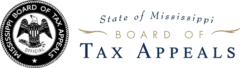 State of Mississippi Board of Tax Appeals